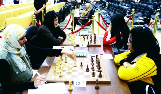 أوليفيا تتصدر دولية الشارقة للشطرنج