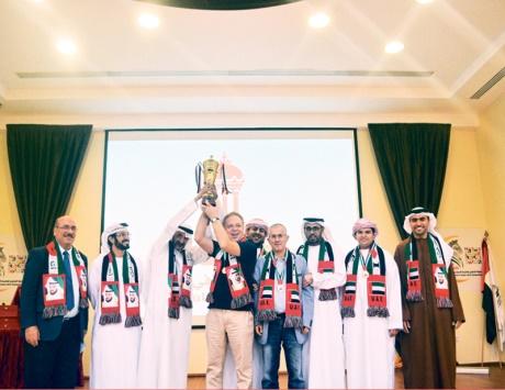 نادي الشارقة يتوج بطلاً واتحاد الإمارات وصيفاً
