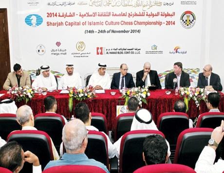 35 دولة إسلامية تتنافس في بطولة الشارقة الدولية للشطرنج