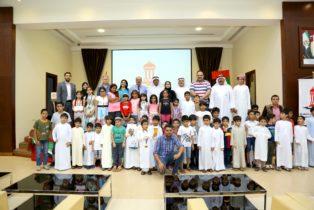 تكريم الفائزين في بطولة الشارقة للناشئين والمبتدئين