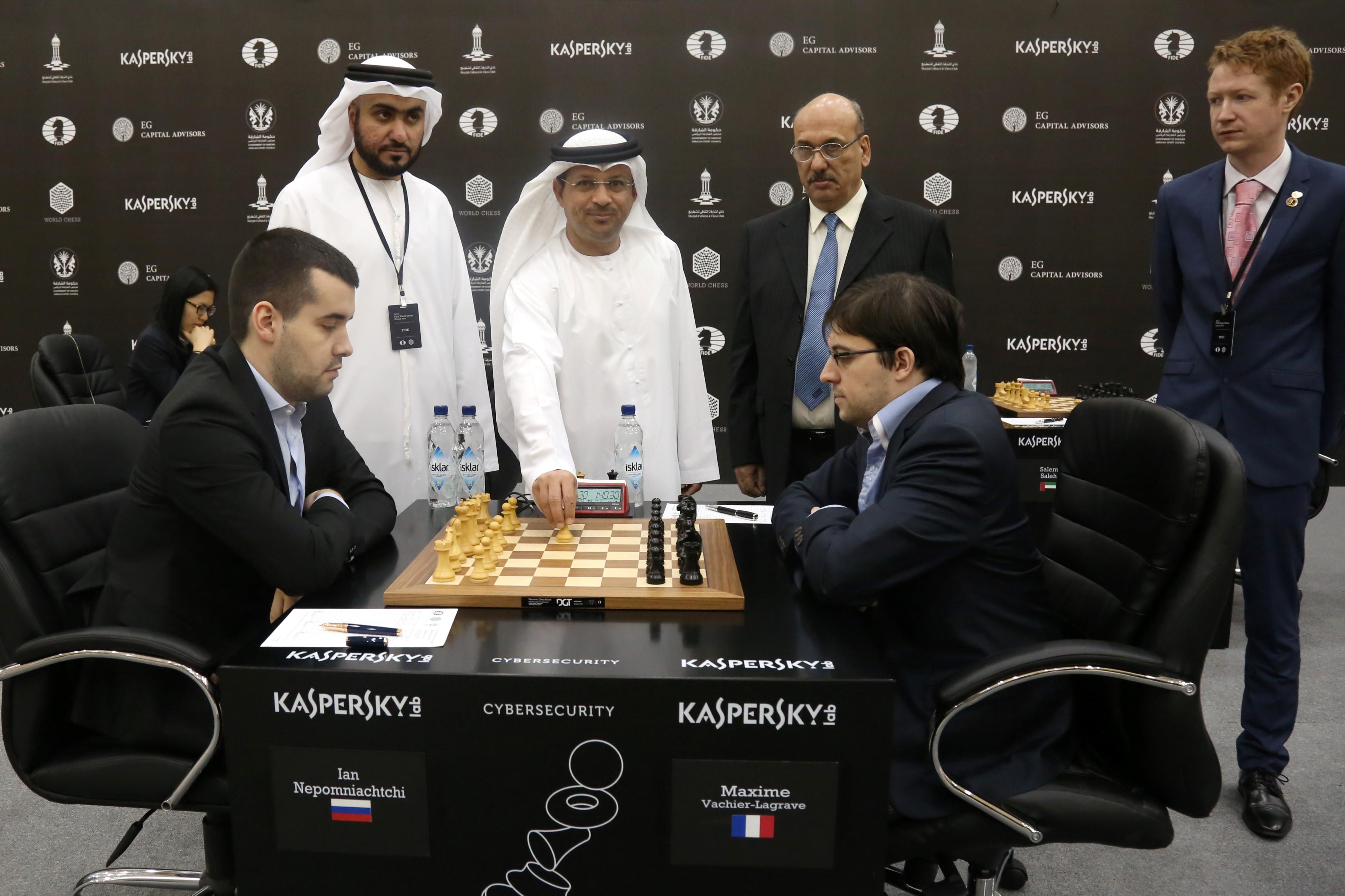 الجولة الثامنة من بطولة العالم للجائزة الكبرى للشطرنج