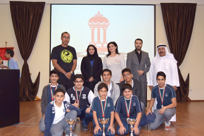 ختام رائع لبطولة مدارس الشارقة للشطرنج
