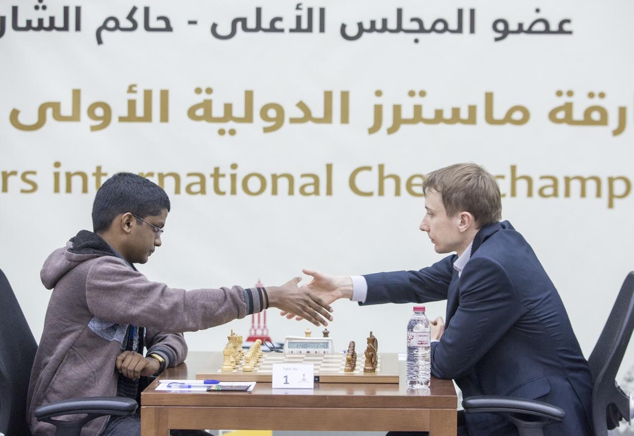 انطلاق الجولة الثانية من بطولة الشارقة ماسترز الدولية للشطرنج